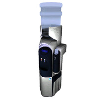 3d futuristic water cooler model