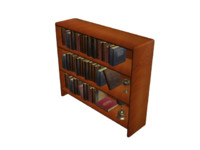 3ds max book shelf