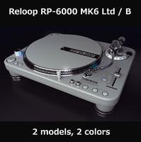 reloop 6000 mk6 3d model