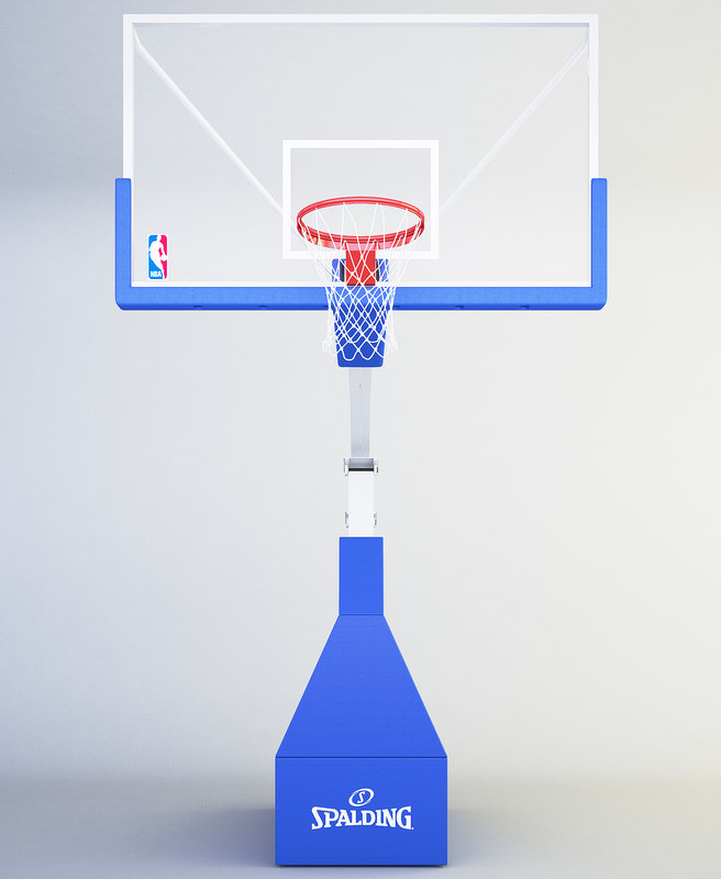 how to draw a 3d basketball hoop
