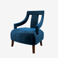 3d model brabbu eanda armchair