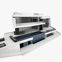 3dsmax modern design house