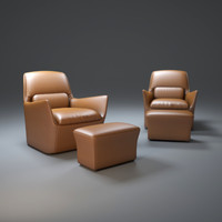 3d ds-110-easy-chair