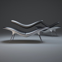 smile-chaise-longue 3d max