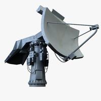 radar 3d model