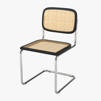3d model thonet s64 chair