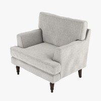 3d lawrens armchair