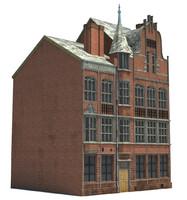 england building 3d obj