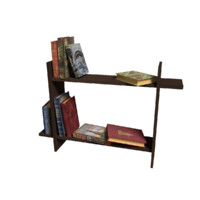 Bookshelf Low Poly