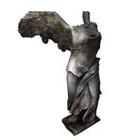 3d statue ready games model