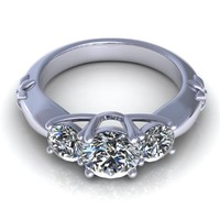 m diamond ring