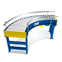 live curve driven conveyors