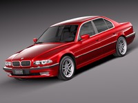 bmw 1998 series 3d obj