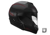 3ds max black modular helmet