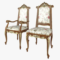 Chairs Modenese Gastone Art 12502-12503