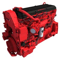 Heavy-Duty Diesel Engine ISX15 Cummins