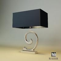 eichholtz la mode table lamp 3d model