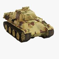 panzerkampfwagen v panther 3d max