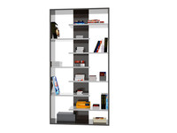 free book shelf 3d model