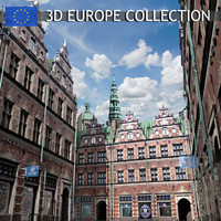 max realistic european building