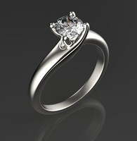 3d engagement ring set 5