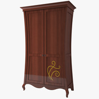 3d furniture doors wardrobe model