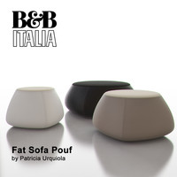 b italia fat sofa obj