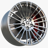 wheel gpower silverstone clubsport 3d model