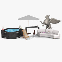 3dsmax luxury furniture