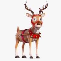 Cartoon_Deer_Rigged