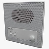 remote wall station dmc3-4 3d c4d