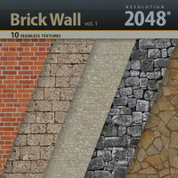 Brick Wall Textures vol.1