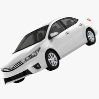 Toyota Corolla E170 Active 2014