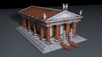 maya greek temple