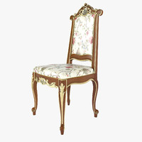 3d model chair modenese gastone
