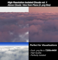 HiRes Isolated Clouds vol. 1