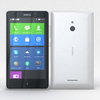 Nokia XL and XL Dual White