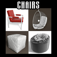 3d model furniture interiors