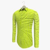 3dsmax shirt hanger yellow