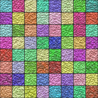 Colorful glazed tiles generated texture
