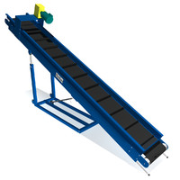 portable parts conveyor belt