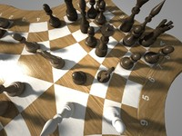 3d max threechess chess