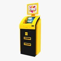 cash terminal 3 3d 3ds