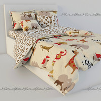 3ds max bed linen