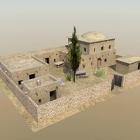 3d afghan compound houses
