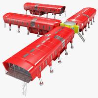 3d antarctic station juan carlos