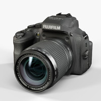 3d model low-poly fujifilm finepix hs50exr