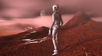 3d model of mars scenario