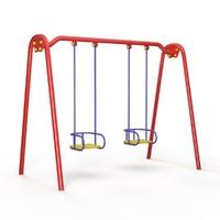 swing children playground 3d model