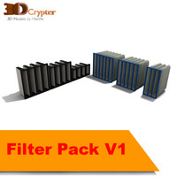 3d pack filters model